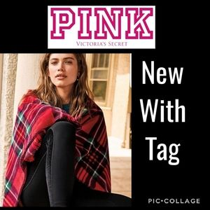 NWT Victoria's Secret PINK Holiday Blanket